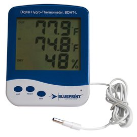 Blueprint Blueprint Controllers Digital Hygro-Thermometer Large BDHT-L