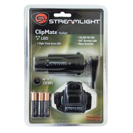 Streamlight ClipMate with Green LED