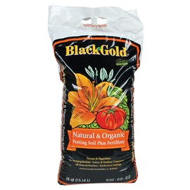 Black Gold Black Gold Natural and Organic Potting Soil Plus Fertilizer 16 qt