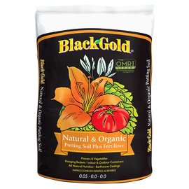 Black Gold Black Gold Natural and Organic Potting Soil Plus Fertilizer 2 cu ft
