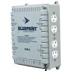 Blueprint Blueprint Controllers HID Hub 8 Site, HUB-8