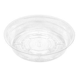 Clear Vinyl Saucer, 6