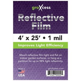 groXcess GroXcess Reflective Film 1 Mil, 25