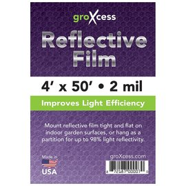 groXcess GroXcess Reflective Film 2 Mil, 50