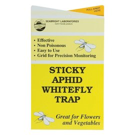 Seabright Laboratories Sticky Aphid/Whitefly Traps, 30 Pack