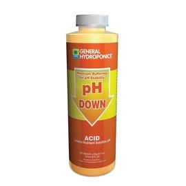 General Hydroponics General Hydroponics pH Down, 8 oz
