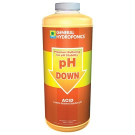 General Hydroponics General Hydroponics pH Down, qt