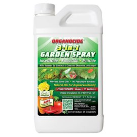 Organicide Organocide 3-in-1 Garden Spray Concentrate qt