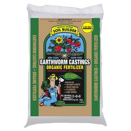 Wiggle Worm Wiggle Worm Soil Builder Always PURE Earthworm Castings 15 lb