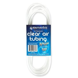 "Elemental Solutions Elemental Solutions O2 Clear Air Tubing 3/16"", 10"