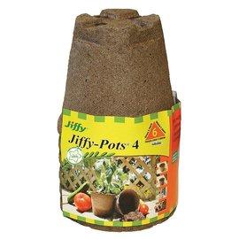 Jiffy Jiffy Jiffypots 4 Round 6 Pack
