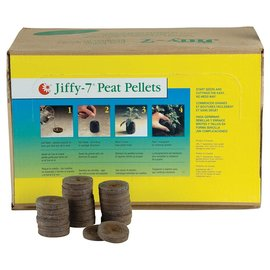 Jiffy Jiffy-7 Peat Pellet, 36 mm, 1000 Case