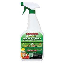 Organicide Organocide 3-in-1 Garden Spray RTU 24 oz