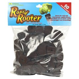 General Hydroponics GH Rapid Rooter Plugs, 50 Pack