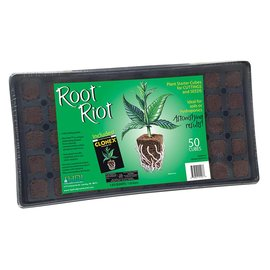 Hydrodynamics International Root Riot Tray w/ 50 Root Riot Cubes