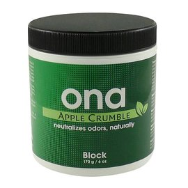 Ona ONA Block Apple Crumble 6 oz