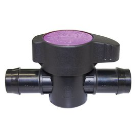 "Antelco Purple Back Valve, 1/2"" barbs"