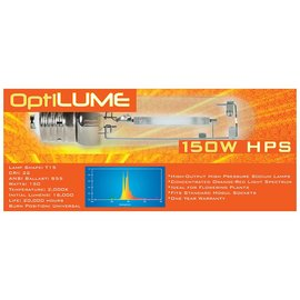 OptiLUME OptiLUME HPS 150W U Lamp T46