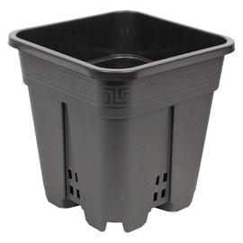 Square Premium Black Pot 9 x 9 x 10