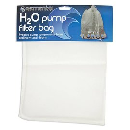"Elemental Solutions Elemental Solutions H2O Pump Filter Bag Large, 10"" x 13"""