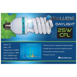 VitaLUME VitaLUME CFL Daylight 25W