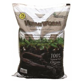 Vermicrop Organics Vermicrop Organics VermiWorm Worm Castings 0.75 cu ft