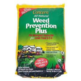 Concern Weed Prevention Plus, 25 lb