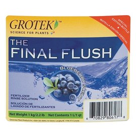 Grodan Grotek Final Flush Blueberry L