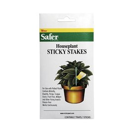 Safer Safer Brand Houseplant Sticky Stakes 7 Pack