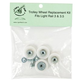 Gualala Robotics LightRail Trolley Wheel Replacement Kit
