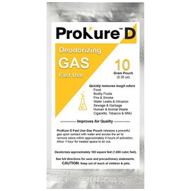 ProKure ProKure D Fast Use Deodorizer 1,000 cu ft, 10 g
