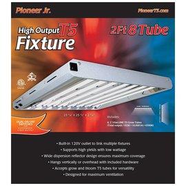 Pioneer Pioneer Jr. 2 x 8 Tube T5 Fixture with Grow Tubes