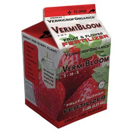 Vermicrop Organics Vermicrop Organics VermiBloom Fruit and Flower Dry Fertilizer, 5 lb