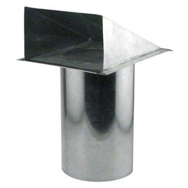 Ideal Air Ideal-Air Screened Wall Vent 6 in