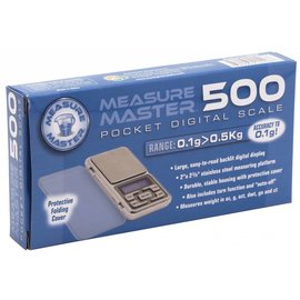 Measure Master Measure Master 500g Digital Pocket Scale - 500g Capacity x 0.1g Accuracy