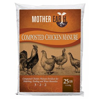 Mother Earth Mother Earth Composted Chicken Manure 25 lbs