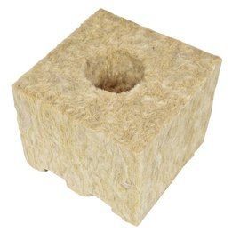 "Grodan GRODAN GRO-BLOCKS Delta 8,  Medium 4"" with Holes"