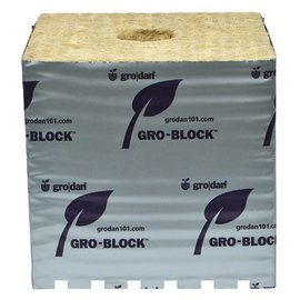 Grodan GRODAN GRO-BLOCKS Hugo with Holes, 6