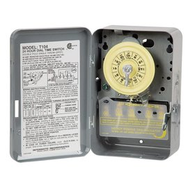 Intermatic Intermatic Heavy-Duty 24-Hour Timer, 40A/120V-480V