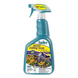 Safer Safer Brand Insect Killing Soap RTU, qt