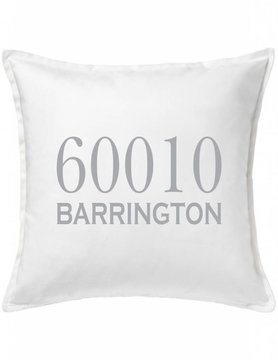 Custom Pillow-2A-Traditional Zipcode