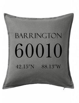 Custom Pillow-6B-Zip Code & Coordinates