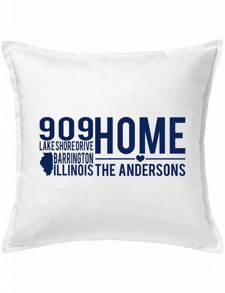 Custom Pillow-9A-Home On A Quiet Street