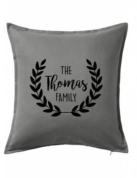 Custom Pillow-21B-Classic Family Wreath