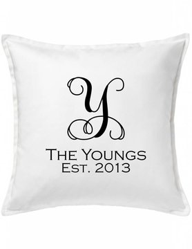 Custom Pillow-27A-Vine Name