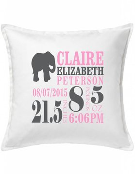Custom Pillow-66C-Elephant Announcement