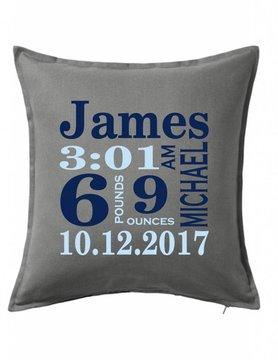 Gray Custom Pillow-70B-Traditional Announcement