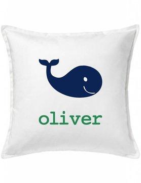 Custom Pillow-75A-Happy Whale
