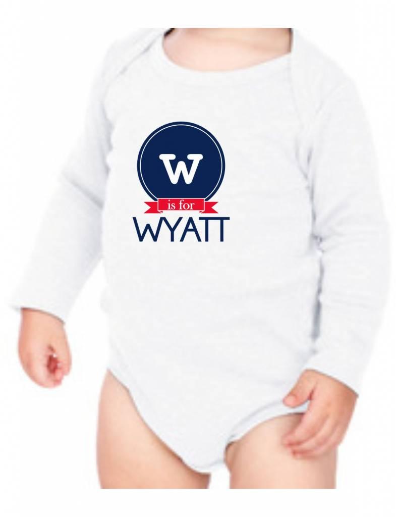 #634 Infant Long Sleeve Onesie-KID66-W is for...