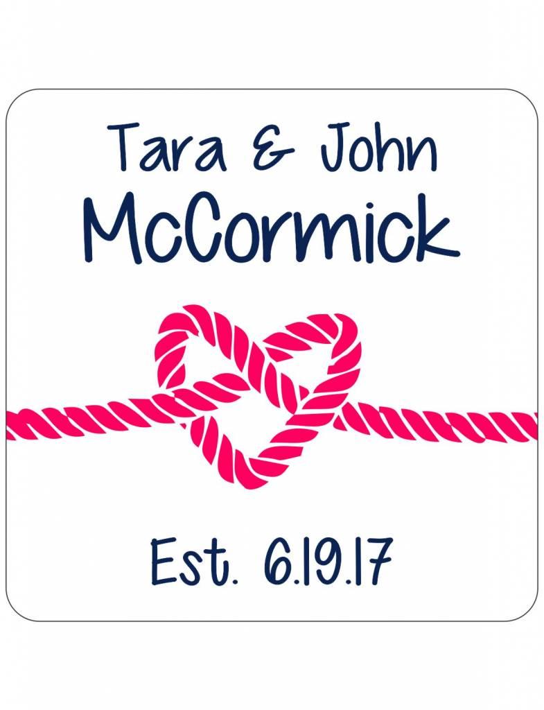 Custom Coasters-CSR28-Tied Together